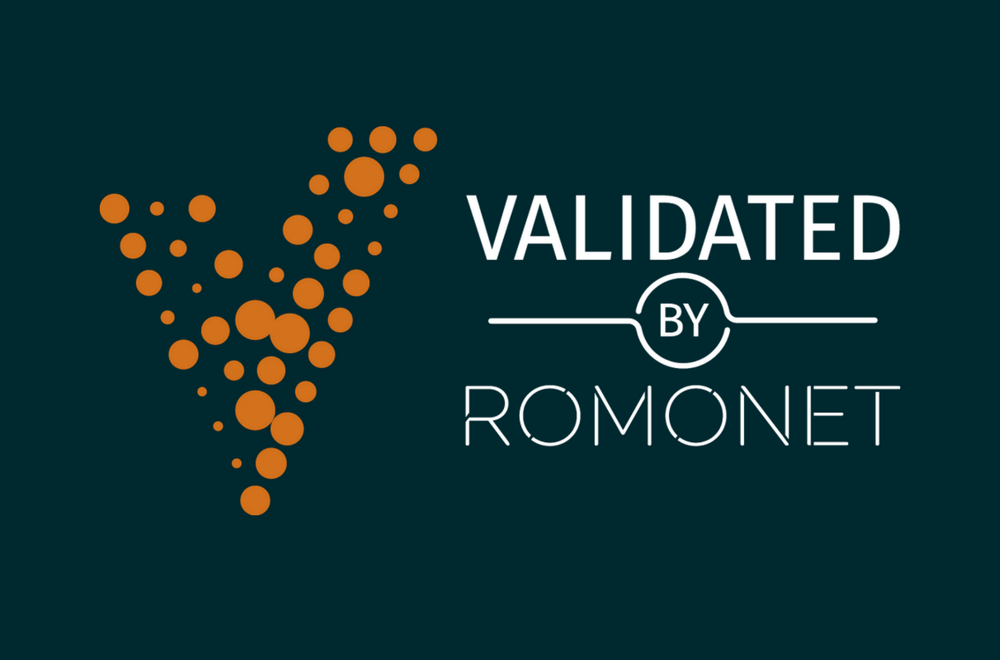 Validated by ROMONET Logo Featured Image